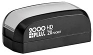 HD20-POCKET - 2000 Plus HD-20 Pre-Inked Pocket Stamp